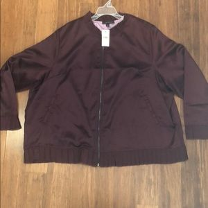 Lane Bryant bomber jacket